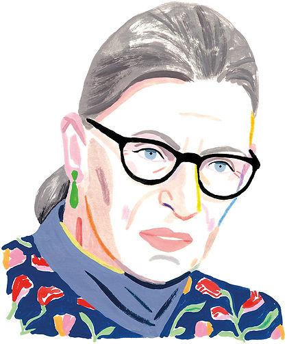 Ruth Bader Ginsburg - Amherst - Rebecca