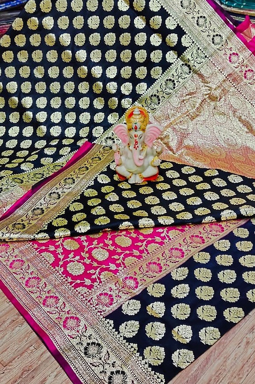 IK Gorgeous Banarasi Saree  02