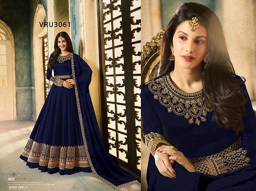 VRS Heavy Rangoli Gown 04