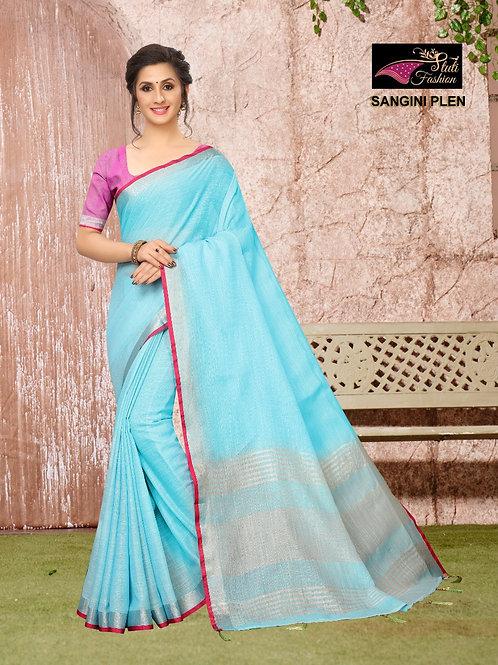 ATLS Sangini Linen saree 02