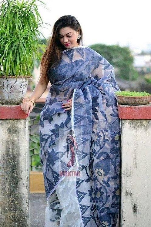 Padma Dhakai Saree