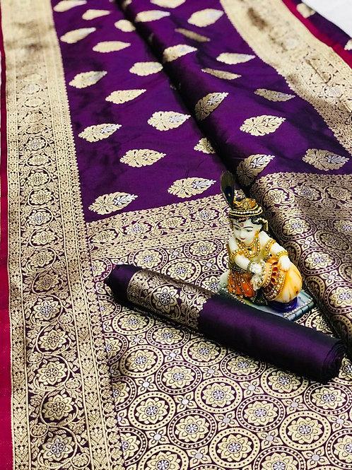 KFS Soft Banarasi Saree 01