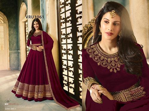 VRS Heavy Rangoli Gown 01
