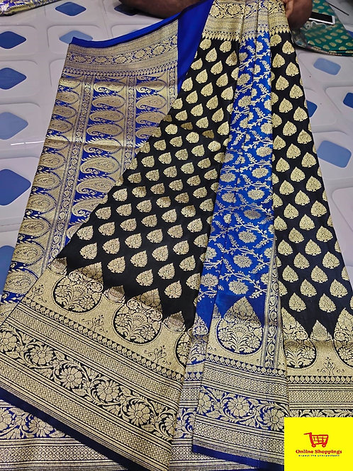 IK Gorgeous Banarasi Saree 13