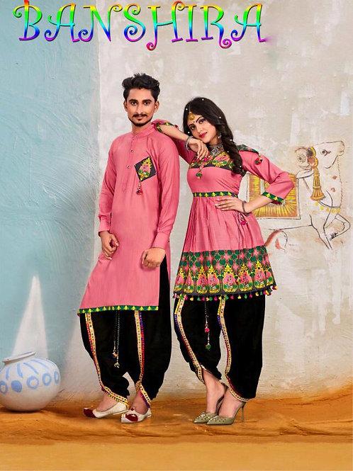 Banshira Combo Navrati Dhamaka Couple Set 02