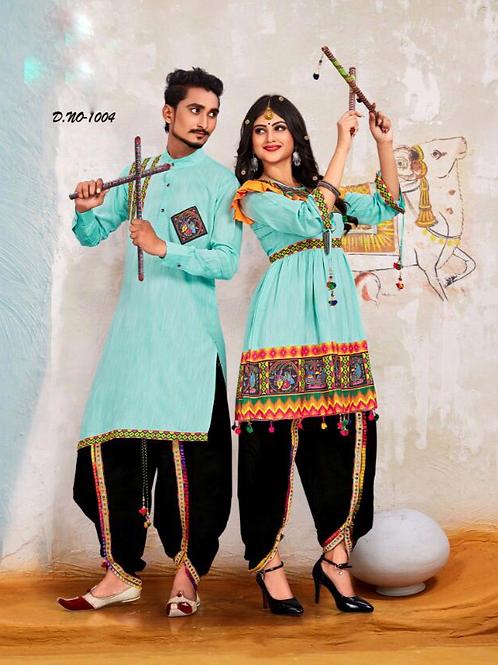 Banshira Combo Navrati Dhamaka Couple Set 03