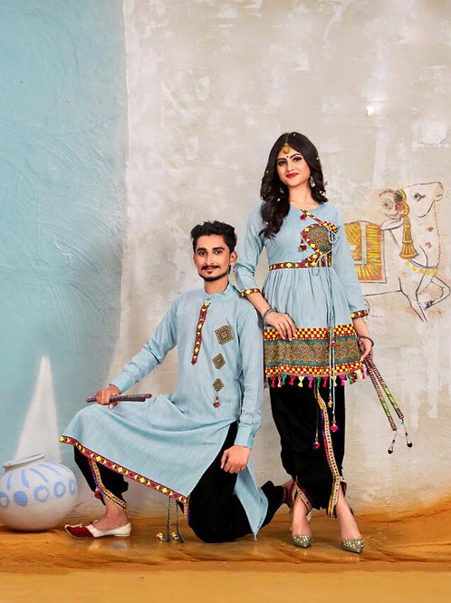 Banshira Combo Navrati Dhamaka Couple Set 04