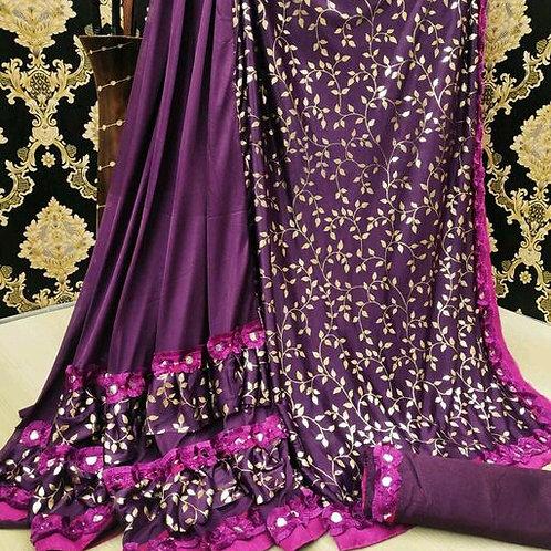 PS Designer Fancy Art Silk Saree 01