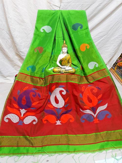 SMB Kalka Handloom saree 06