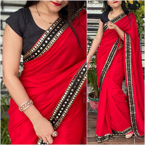 KFS Designer Sequence Work Saree 01