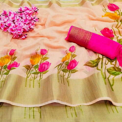 KFS Vamika Cotton Saree 04