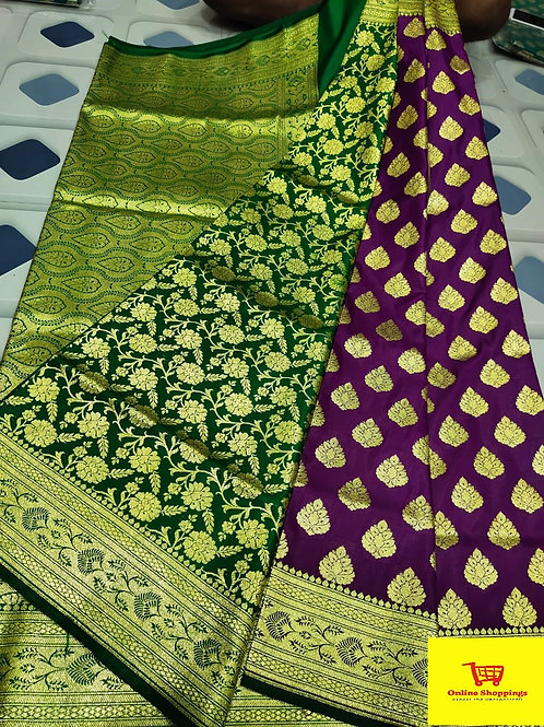IK Gorgeous Banarasi Saree 15