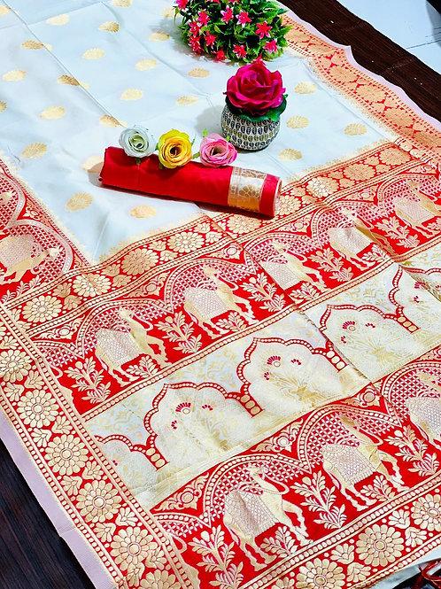 KFS Rajasthani Silk Saree 03