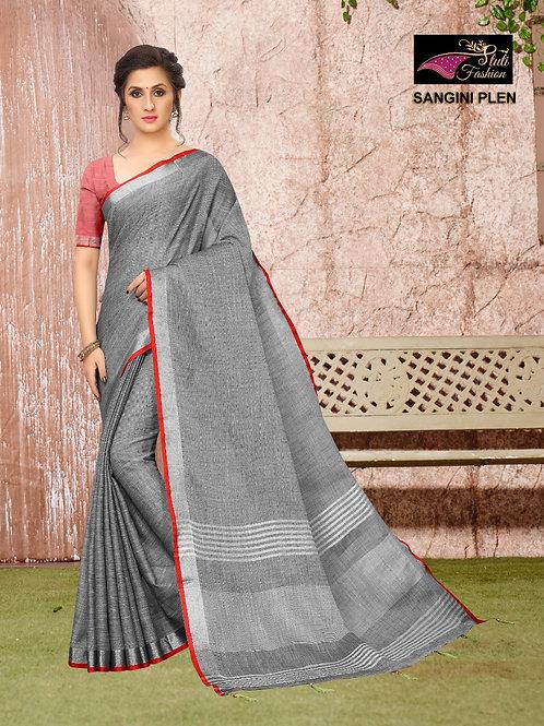 ATLS Sangini Linen saree 01