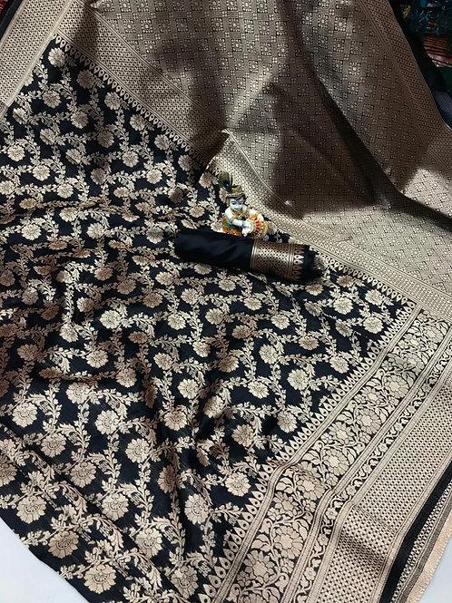 KFS Premium Banarasi Silk Saree 07