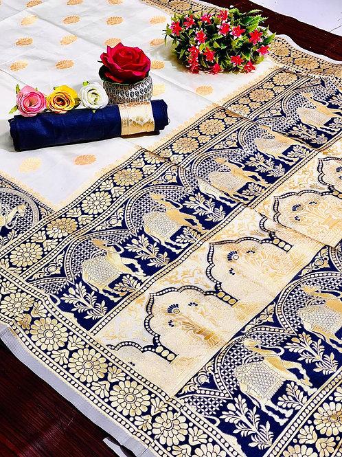 KFS  Rajasthani Silk Saree  02