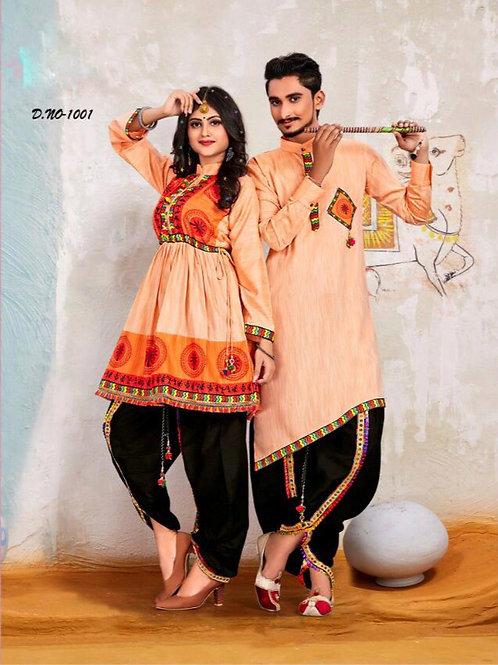 Banshira Combo Navrati Dhamaka Couple Set 01