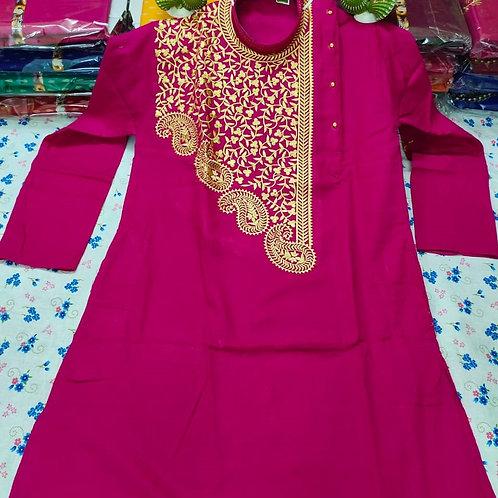MK Babumosai Punjabi  Pink