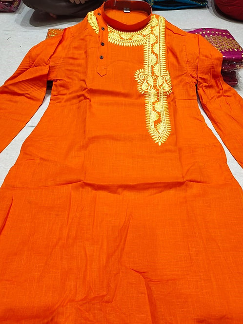 MK  Babumosai Punjabi  Orange