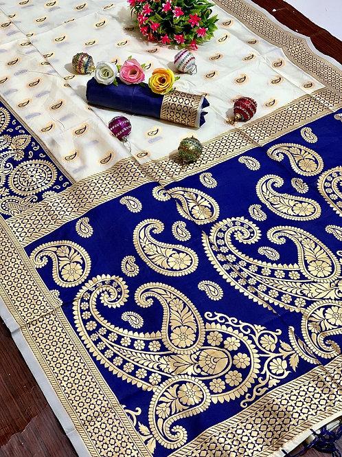 KFS Puja Special Silk Saree 02