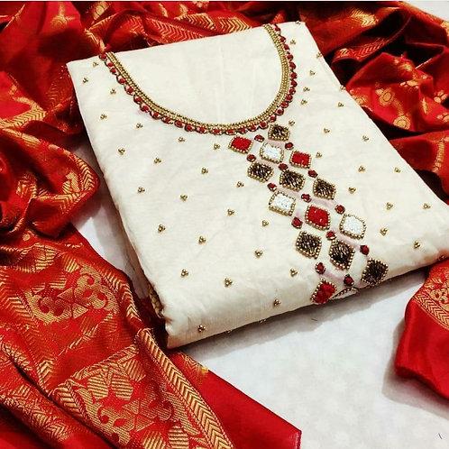KFS Chanderi Designer Suits 01