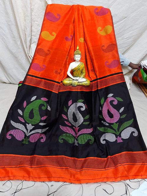 SMB Kalka Handloom saree  07