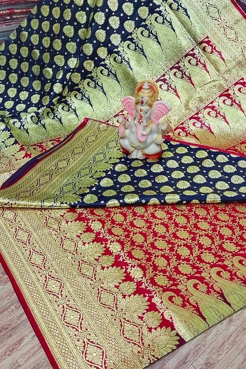 IK Gorgeous BanarasiSaree  07