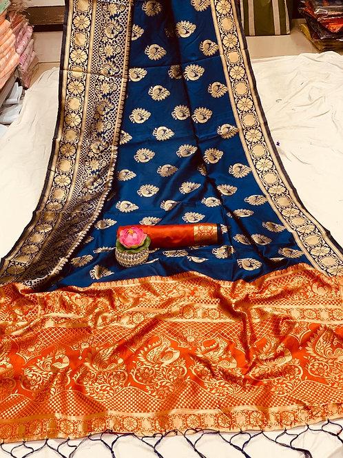 KFS Sarathi Silk Saree 04