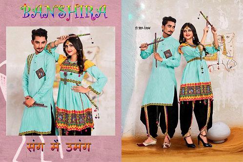 Banshira Combo Navrati Dhamaka Couple Set 10