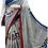 Thumbnail: Google Print Multicolour Cotton Mulmul saree with Blouse Piece un stitched