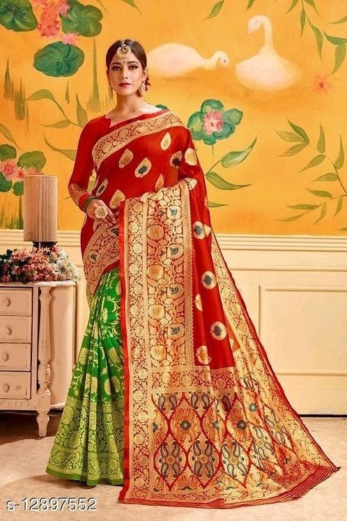 Chitrarekha Silk Saree