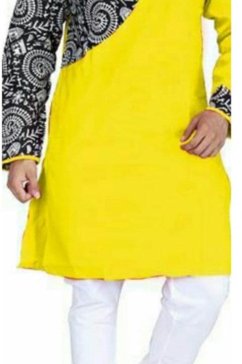 UB Designer Punjabi Yellow