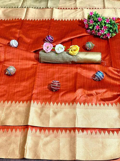 KFS Bhagalpuri Silk Saree 01