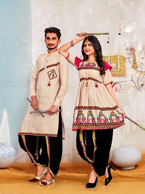Banshira Combo Navrati Dhamaka Couple Set 06
