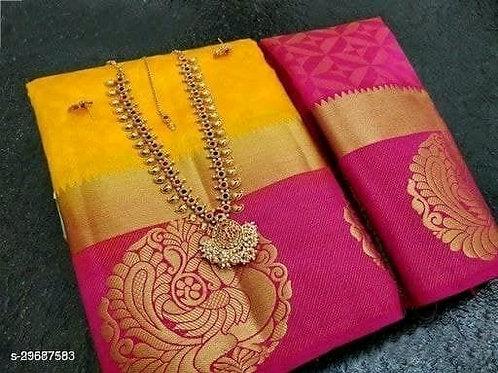 Embellished Silk Saree