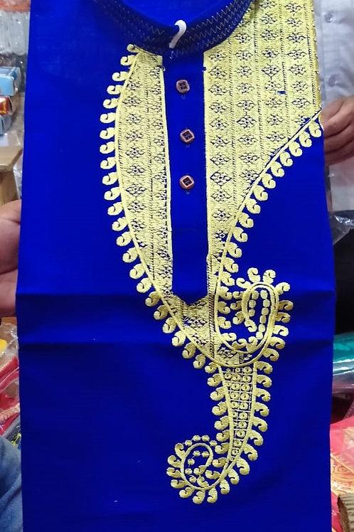 MK Babumosai Punjabi Nevy Blue