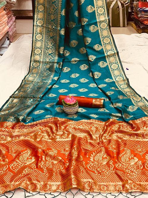 KFS Sarathi Silk Saree 01