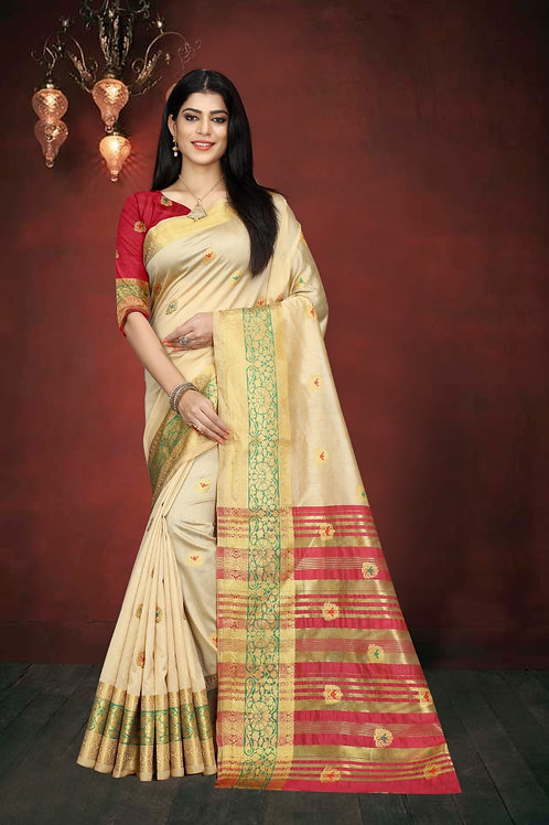 ATLS South Cotton Saree 03
