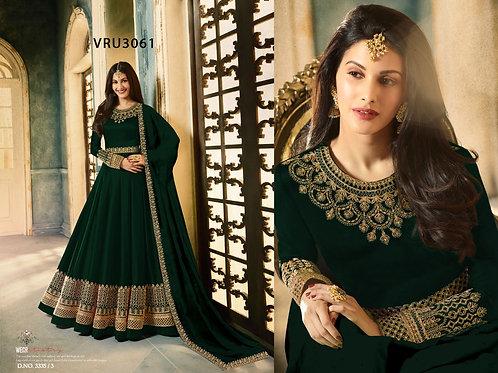 VRS Heavy Rangoli Gown 02