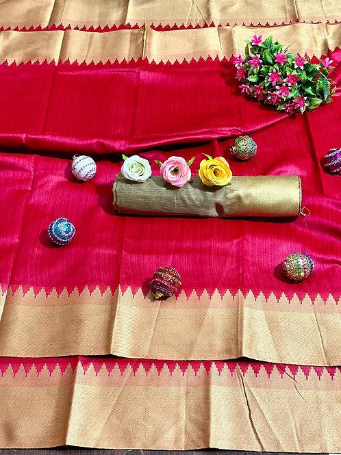 KFS Bhagalpuri Silk Saree 03