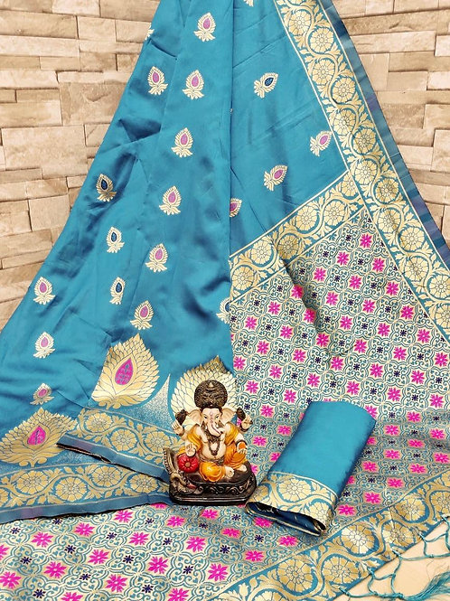 KFS Art Silk Saree  04