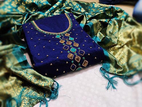 KFS Chanderi Designer Suits 03