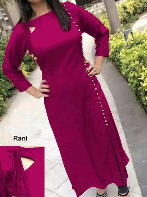 PB Modern Fancy Women Kurti   Rani
