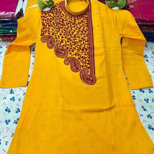 MK Babumosai Punjabi Yellow