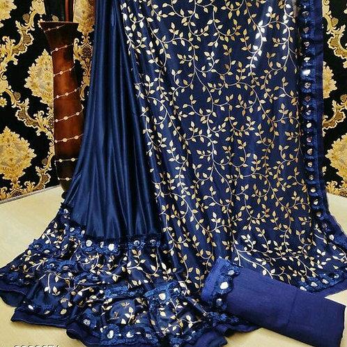 PS Designer Fancy Art Silk Saree 03