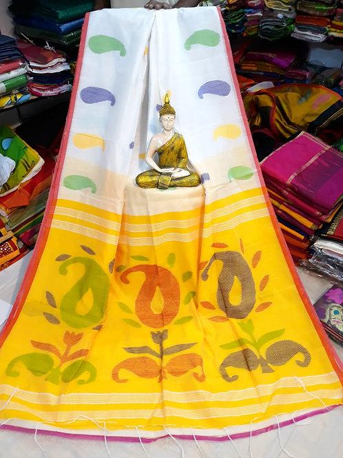 SMB Kalka Handloom saree  08