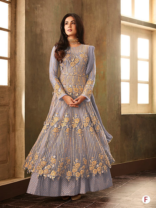 KFS Embroidery Jari Work Suits 04