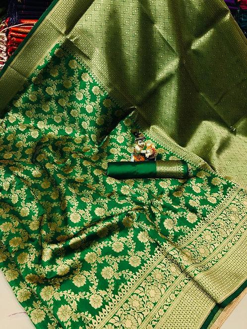 KFS Premium Banarasi Silk Saree 03