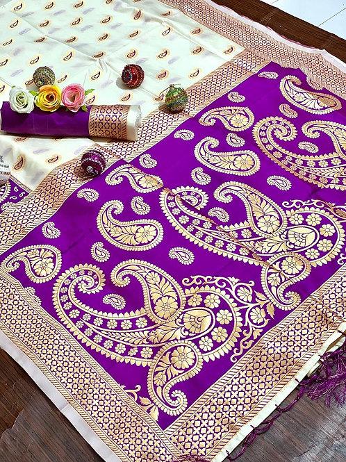 KFS Puja Special Silk Saree 04