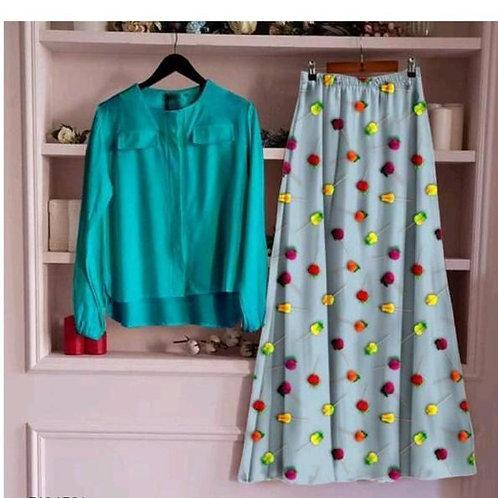 VRS Designer Skirt & Top 12